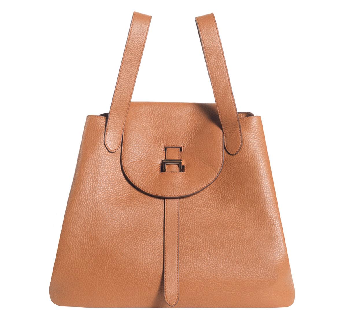 tan thela bag by meli melo roztayger designer