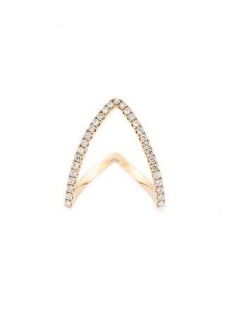 ring gold ring gold yellow metallic jewels