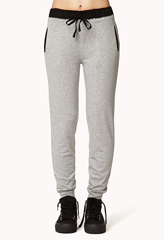 Menswear-Inspired Sweatpants | FOREVER21 - 2000051890