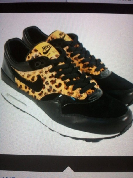 shoes leopard print nike leopard shoes nike air max 1 sports shoes