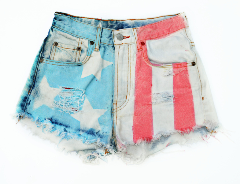 The 'American Flag' Shorts - Nerdy Youth