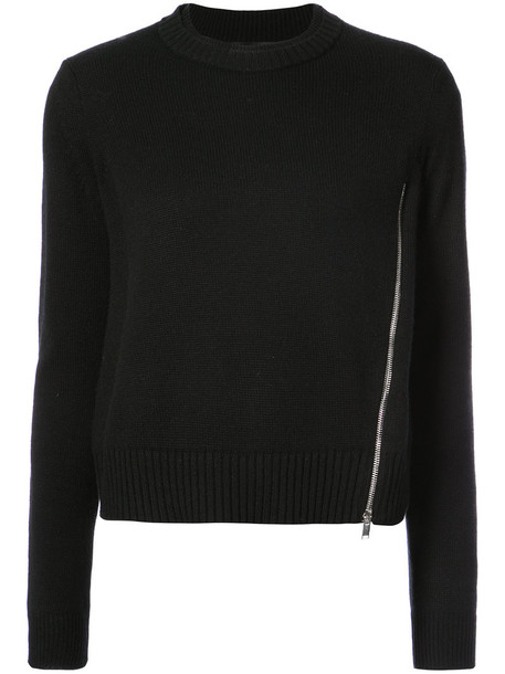 Proenza Schouler sweater women black silk wool