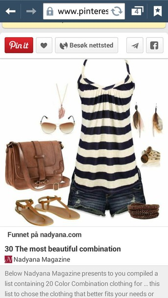 blouse tank top shoes skirt sweater