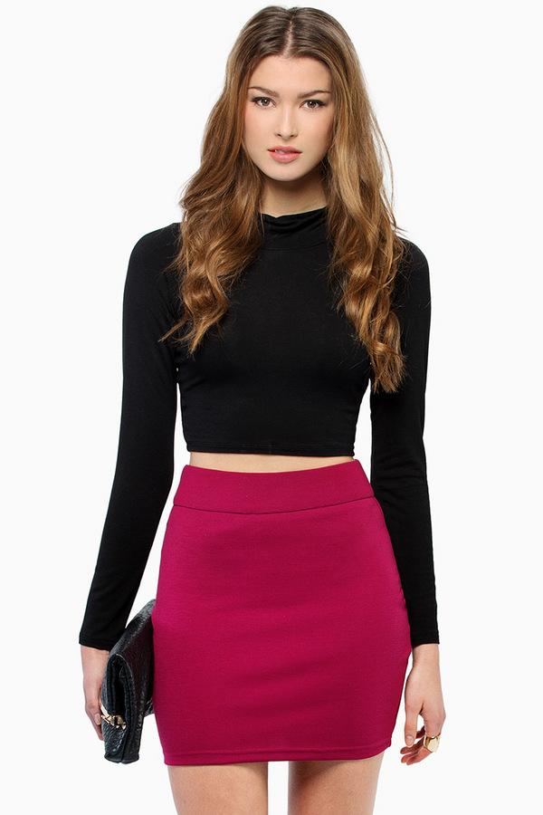 Wild Child Mini Skirt - Tobi