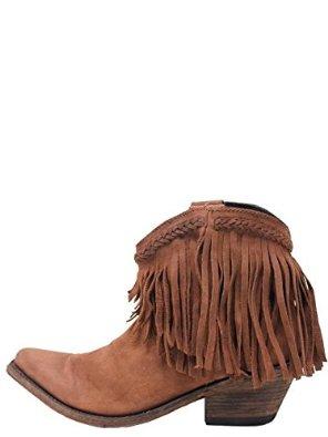 Amazon.com: LIBERTY BLACK Short Fringe Chocolate T Moro - LB-71129CHOC: Clothing