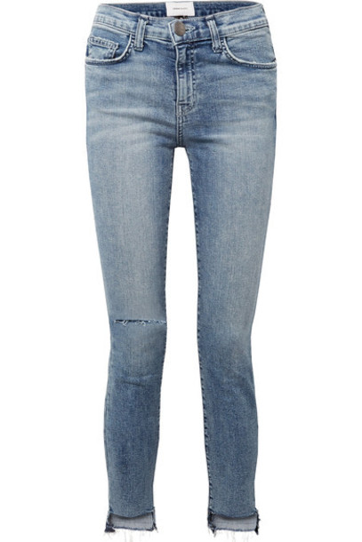 Current/Elliott jeans skinny jeans denim high