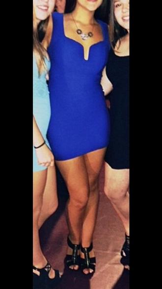 dress blue blue dress homecoming dress homecoming cocktail dress bodycon dress bodycon