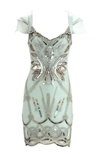 dress mint roaring 20s mint dress