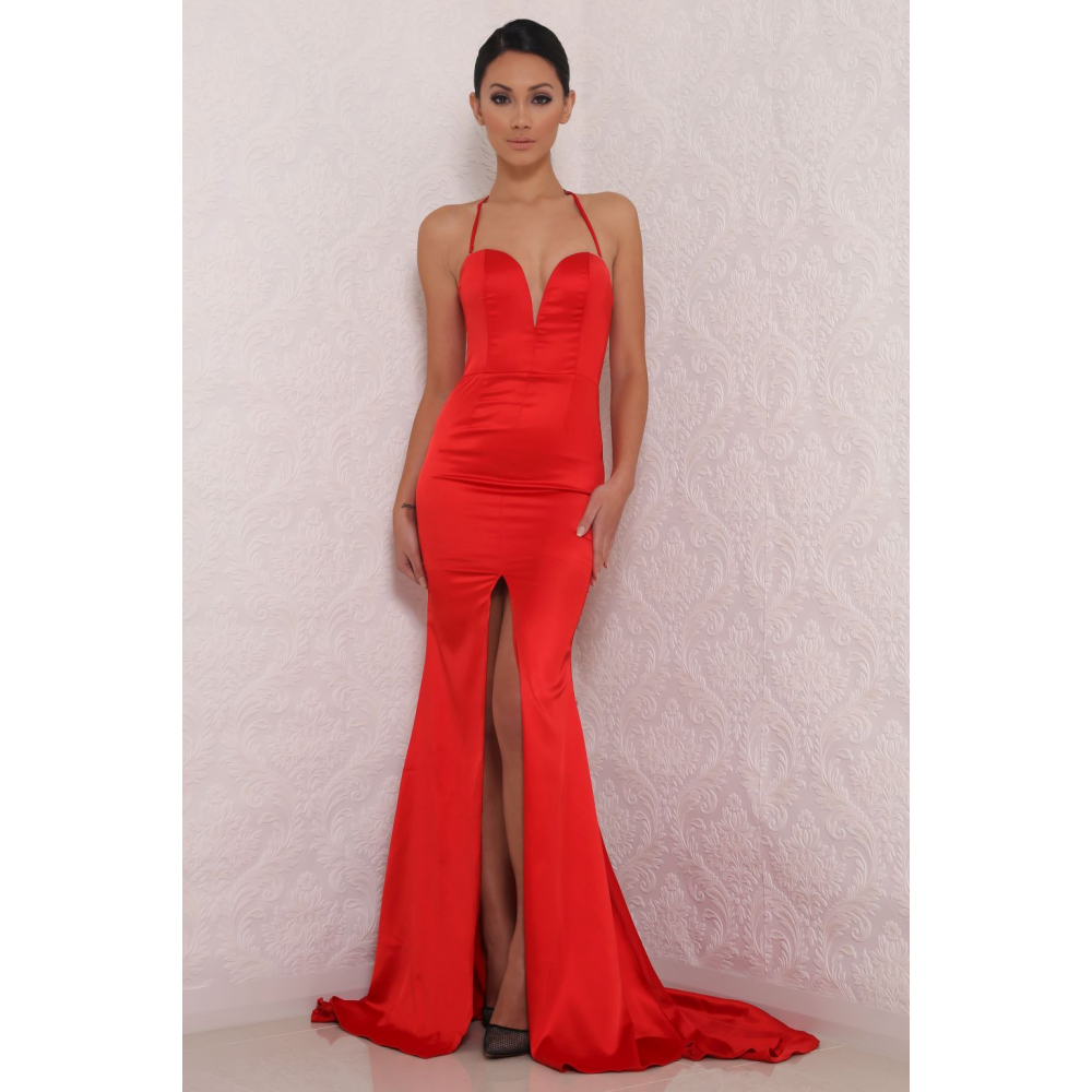 Abyss by Abby - Milan - Red Jessica Rabbit sweetheart neckline ...