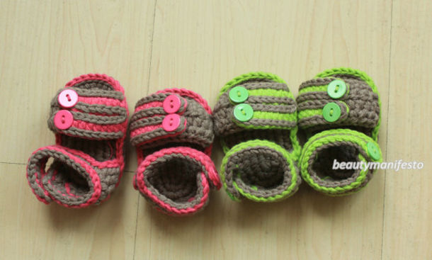 Shoes Clothes Children Booties Crochet Baby Baby Crochet