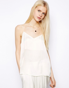 Monki | Monki Satin Singlet at ASOS