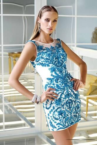 dress prom dress designer dress heavy beaded short dress