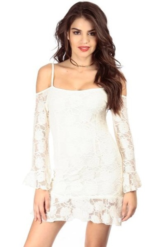 dress white lace dress lace white