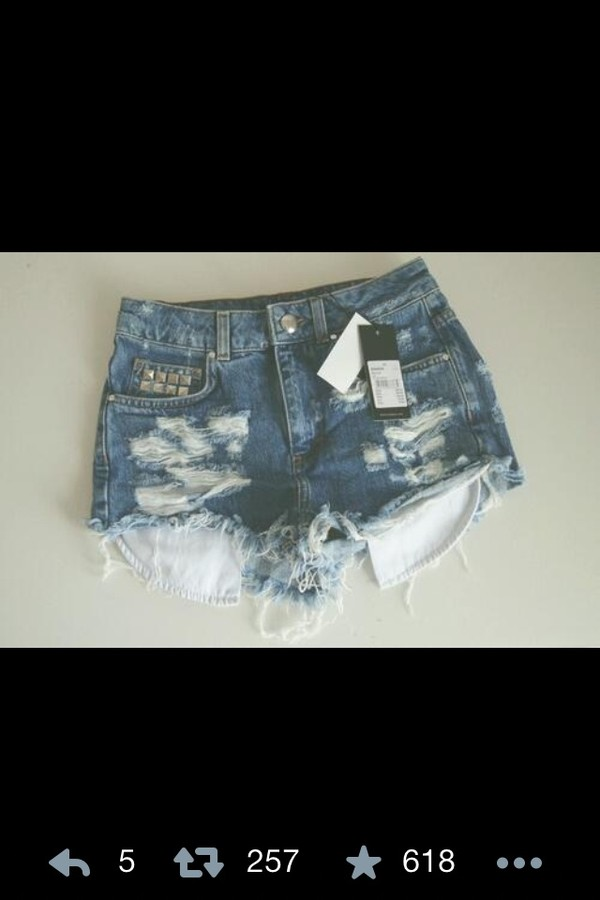 shorts cutoff light denim frayed high waisted studded shorts summer distressed denim shorts denim
