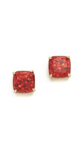 glitter earrings stud earrings jewels