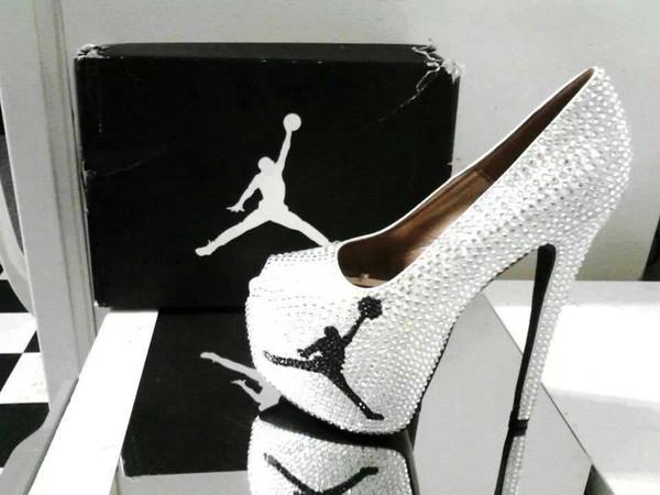 shoes heels jordans black and white jordan heels air jordan