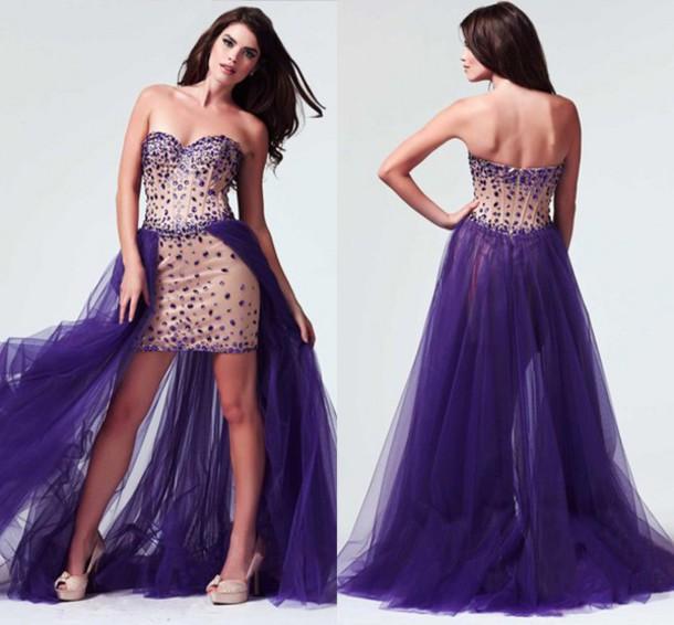 Sexy Purple Prom Dresses