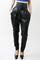 Miley c high waist leather harem pants