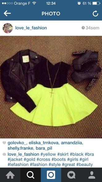 black dress yellow yellow dress