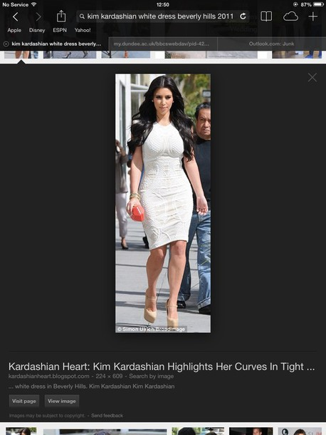 dress white midi kim kardashian