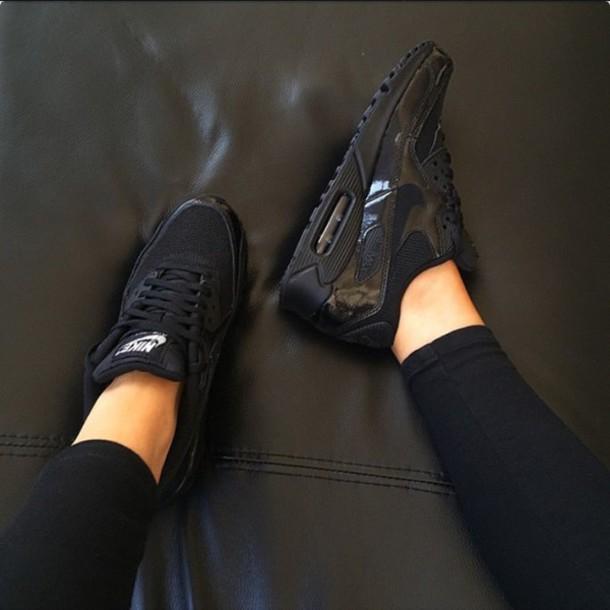 shoes air max black nike air black nikes