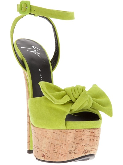 Giuseppe Zanotti Design Bow Platform Stiletto Sandal - Work In Progress - Farfetch.com