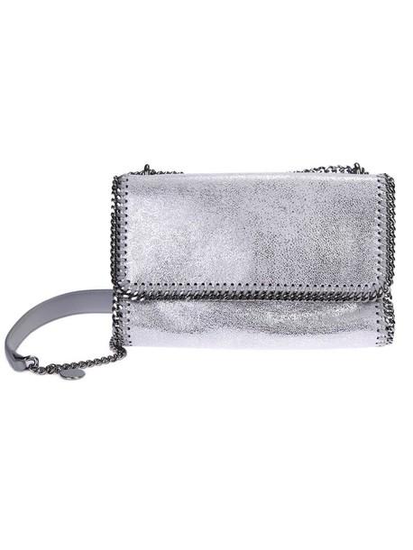 Stella McCartney metallic bag shoulder bag leather