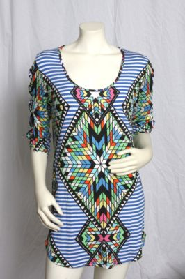 Mara hoffman neiman marcus dress aztec nwt  m cover up on ebay!