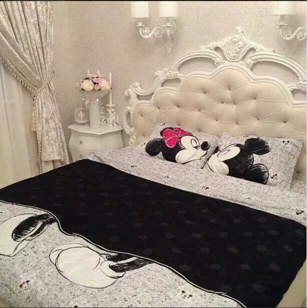 minnie mouse, bedding, mickey mouse, holiday gift - Wheretoget