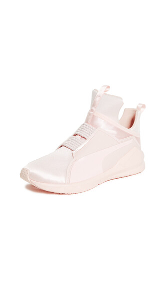 sneakers satin pearl shoes