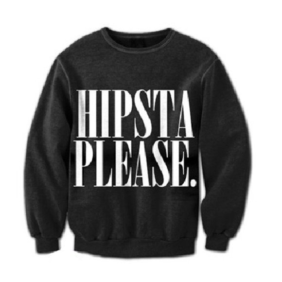 black hot sweater hipsta