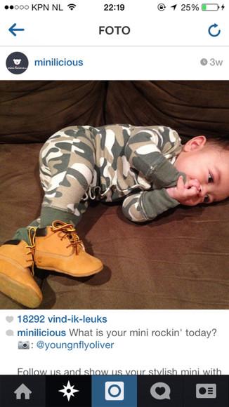 camouflage pajamas baby onesie army print baby