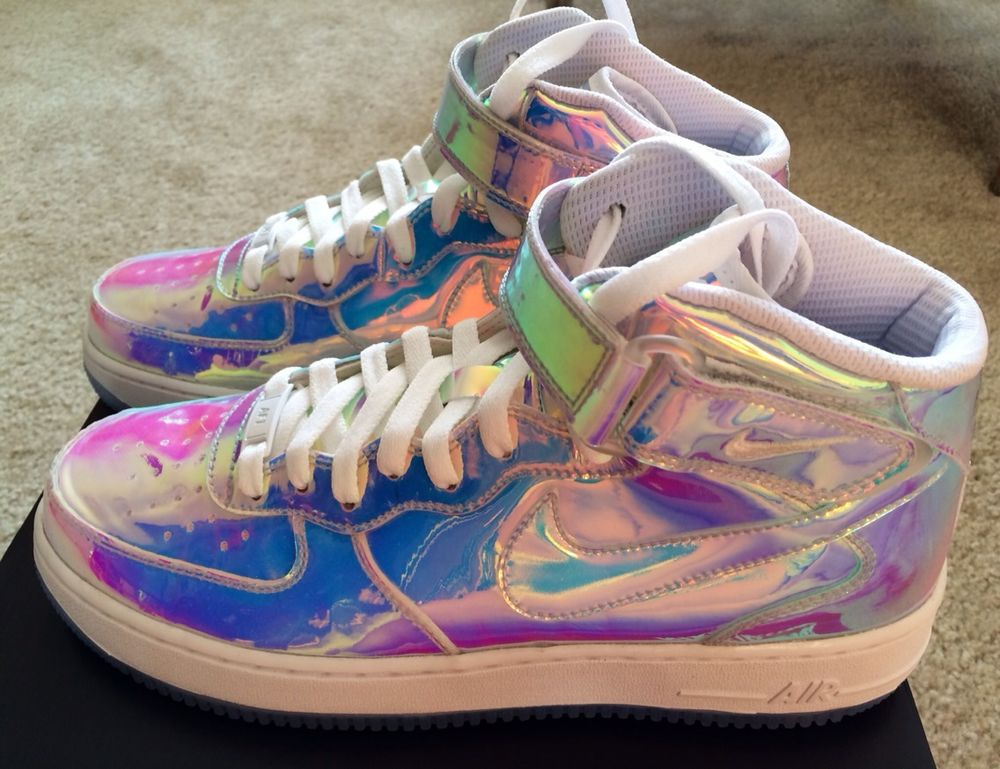 Nike Air Force 1 Mid Premium ID Iridescent All Star AS