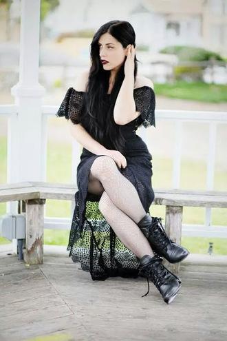 crochet goth