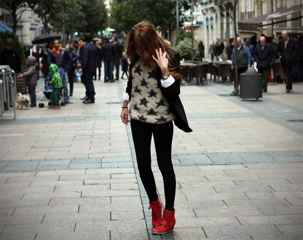 rebel attitude sweater jacket shoes
