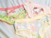 underwear,pink,hello kitty