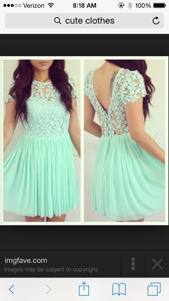 mint mint dress flowers lace dress flower dress