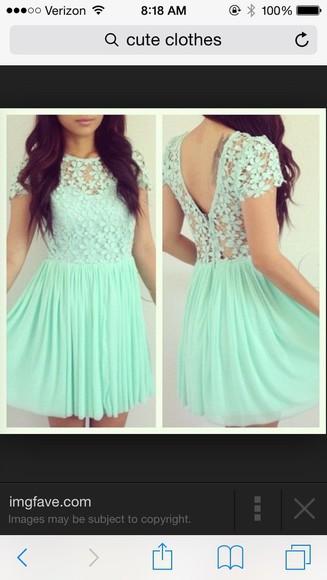 mint flowers mint dress lace dress flower dress