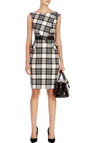 Karen Millen Graphic black and white dress : 30% Off Dress Edit