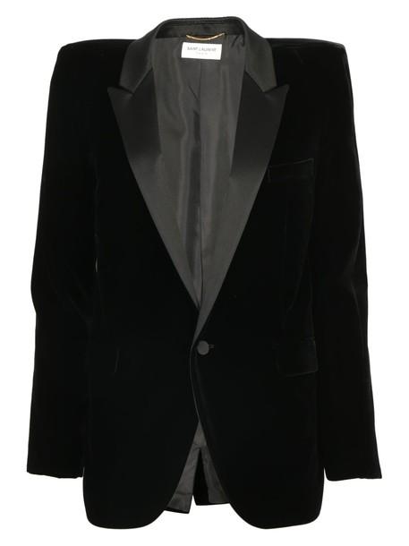 Saint Laurent jacket velvet