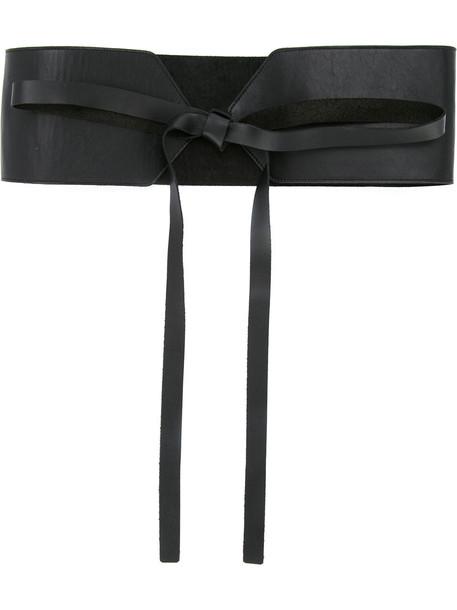 belt lace black
