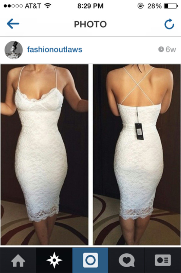 dress white dress long dress