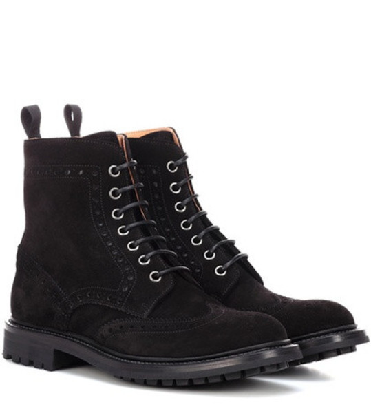 Church's Angelina suede ankle boots in black