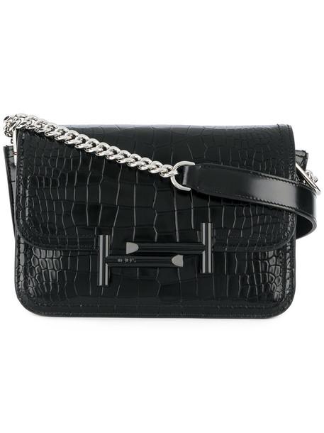 mini women bag crossbody bag leather black