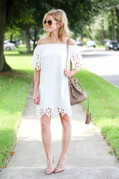 80311e0890 kim tuttle the knotted chain - a style blog by kim tuttle blogger dress  shoes bag