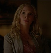 top,candice accola,the vampire diaries,caroline forbes,pink