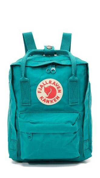 mini ocean backpack green bag