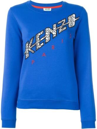 sweatshirt blue sweater