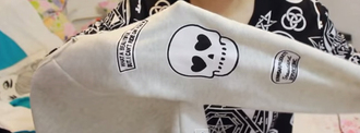 sweater beige sweater skull sweather skull t-shirt printed sweater tachuelas