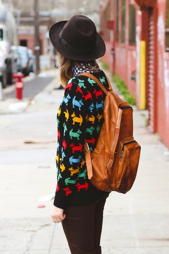 bag vintage backpack leather backpack blogger hipster steffy's pros and cons
